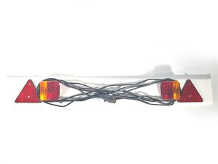 China Plastic Trailer Light Board Towing Light Board Optional Size Safety Sign supplier