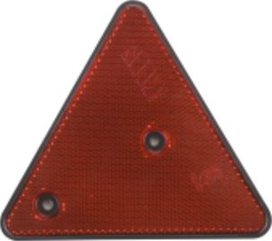 China Triangle Trailer Reflectors OEM Standard Small Red Reflectors IATF16949 Certification factory