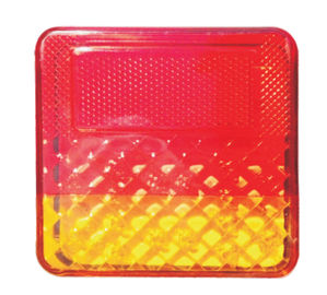 China Square Emergency Trailer Lamps Waterproof Trailer Tail Lights Use In Truck Side distributor