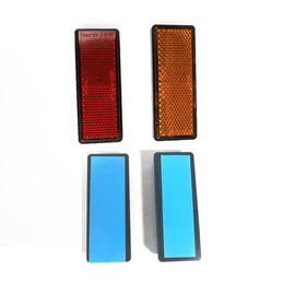 China Pickup Trucks Trailer Light Reflectors PMMA Material Rectangle Shape Waterproof distributor