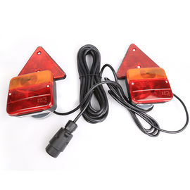 China vehicle Trailer Rear Lamps With Magnet And Round Plug Oem Railer Trailer Light Kit factory