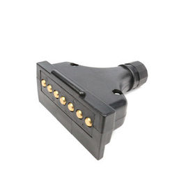 China 7 Pin Trailer Electrical Plug 24v Screw Type Plug Male Electrical Plug OEM Standard factory